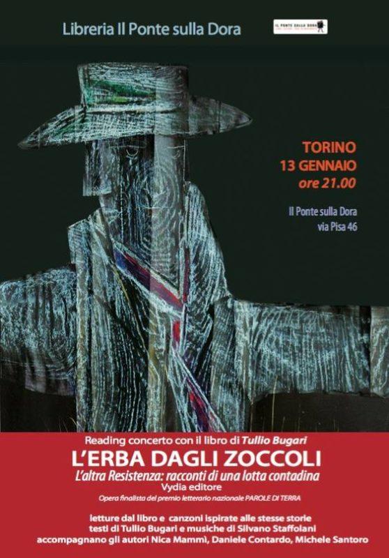 L'erba dagli zoccoli di Tullio Bugari, reading e canzoni 13-01-2017